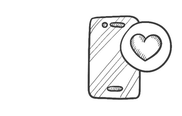 Sticker Deco Smartphone