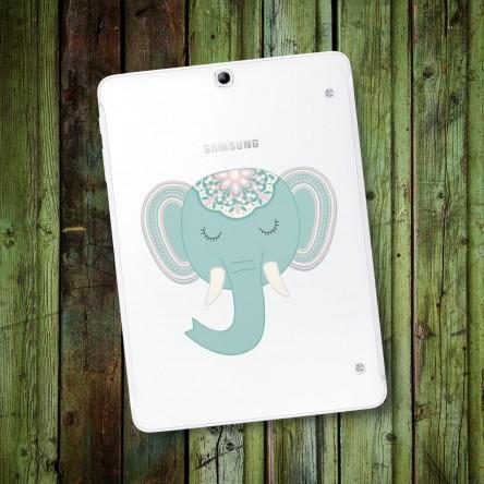 Sticker Deco Éléphant Bohème