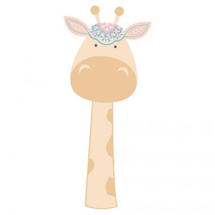 Sticker Deco Girafe Bohème