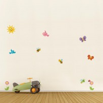 Sticker Deco Volants Mignons Chambre Enfant