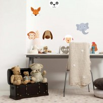 Sticker Deco Animaux Funky
