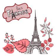 Sticker Deco Paris
