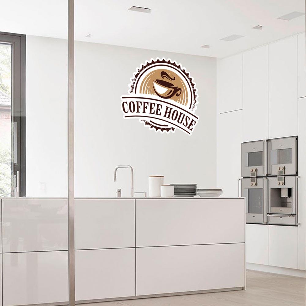 Sticker Deco Coffee House Cuisine