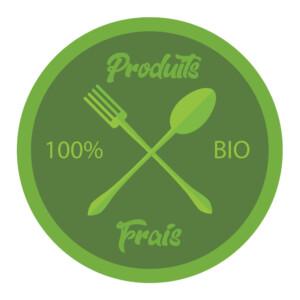 Sticker Deco Produits Frais Cuisine