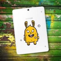 Sticker Deco Monstre Mignon Lapin