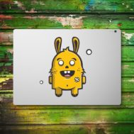 Sticker Deco Monstre Mignon Lapin