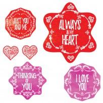 Sticker Deco Amour Salle de Bain
