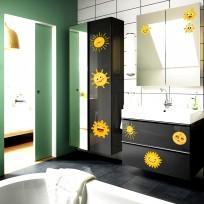 Sticker Deco Sun Smile Salle de Bain