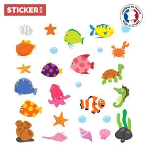 Sticker Aqua