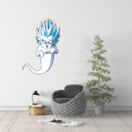 Sticker Mural Fantome Dragon Ball