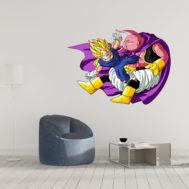 Sticker Mural Vegeta vs Boo