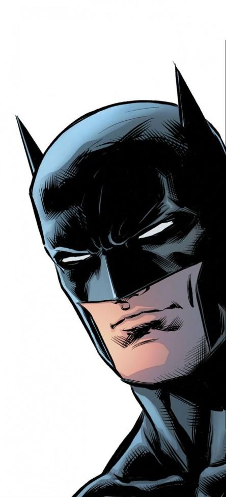 Sticker Mural Batman Dessin