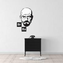 Sticker Mural Breaking Bad