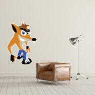 Sticker Mural Crash Bandicoot