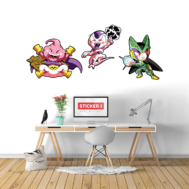 Sticker Mural Dragon Ball Mechant Cartoon