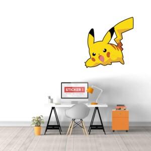 Sticker Mural Pikachu