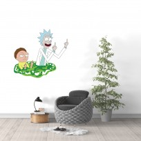 Sticker Mural Rick and Morty 02