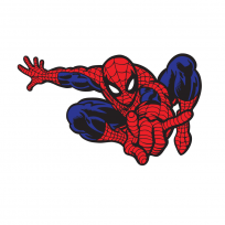 Sticker Mural Spider Man 02