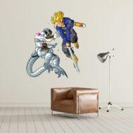 Sticker Mural Trunck vs Freezer