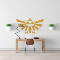 Sticker Zelda Hyrule Emblème Mural