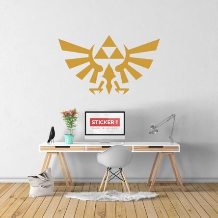 Sticker Mural Zelda Hyrule