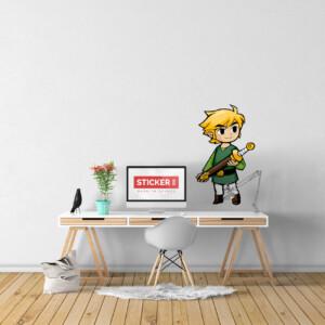 Sticker Zelda Wind Waker Link