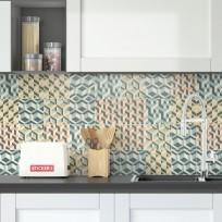 Sticker Carreaux de Ciment Retro 3D