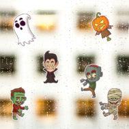 sticker zombie halloween