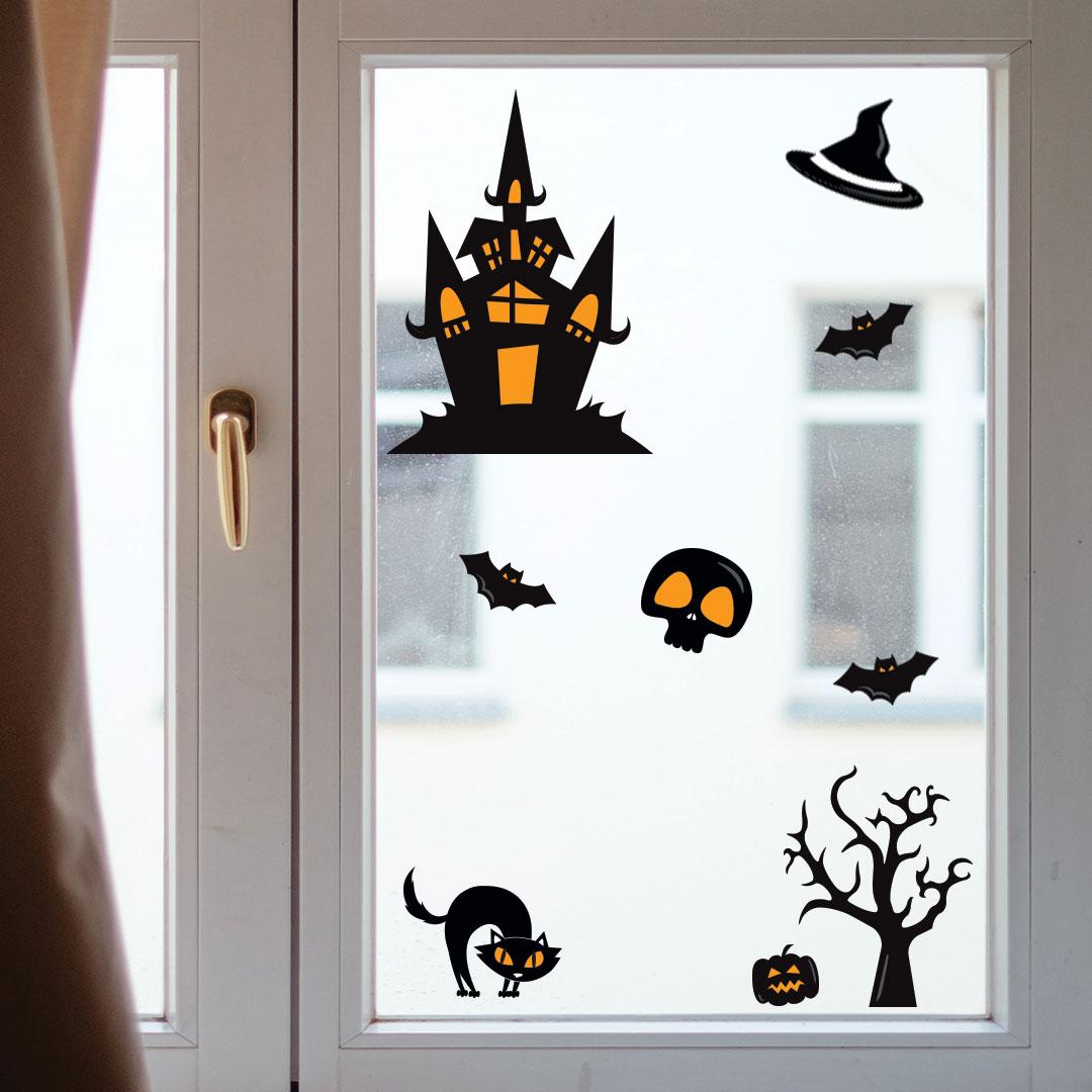 Sticker Maison Hantée Halloween
