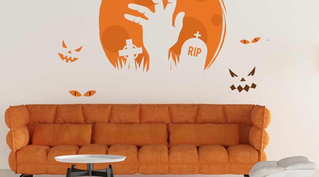 Sticker Mort Vivant Halloween