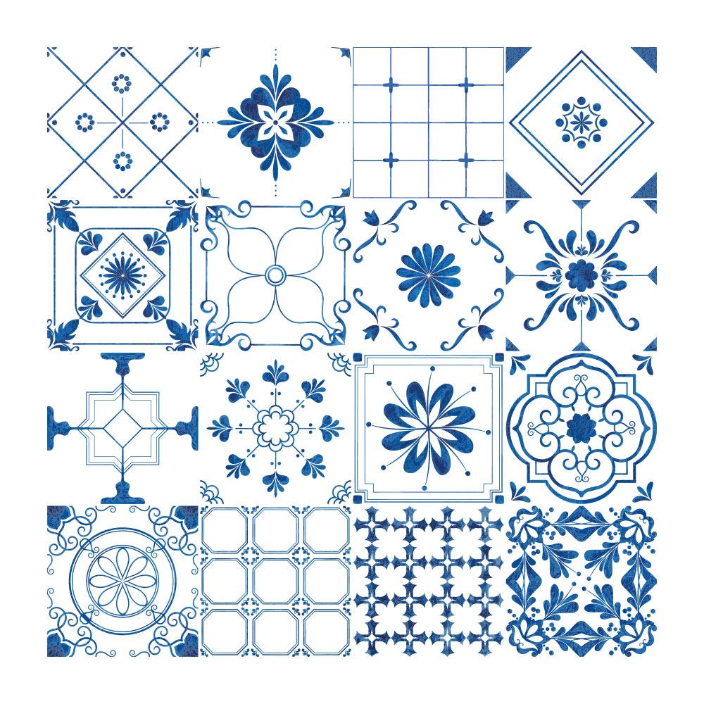 Stickers Carreaux De Ciment Provencalstickiers Carreaux De Ciment Mosaique