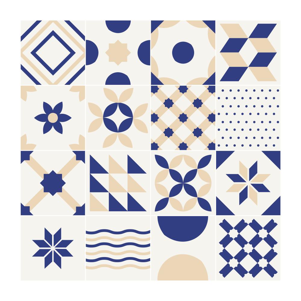 Sticker Carreaux De Ciment Provençal
