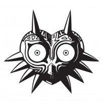 Sticker Zelda Majoras Mask