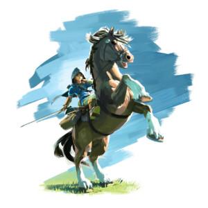 Sticker Zelda Epona