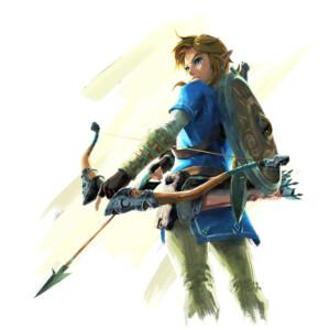 Sticker Zelda Link Breath of the Wild