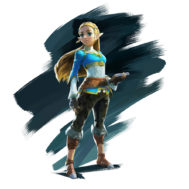 Sticker Princesse Zelda Breath of the Wild
