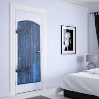 Sticker Porte Fenetre Bleu
