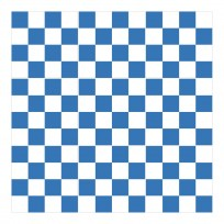 Sticker Carrelage Damier Bleu