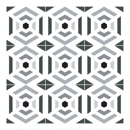 Sticker Carrelage Géométrie