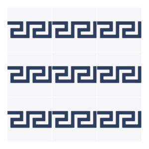 Sticker Carrelage Grec