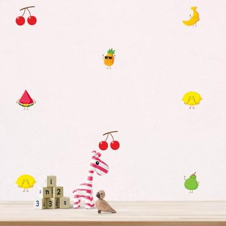 Stickers Fruits Kawaii