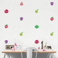 Stickers Fruits Mignons