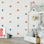 Stickers Nemo Dory