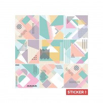 Stickers Carrelage Abstrait