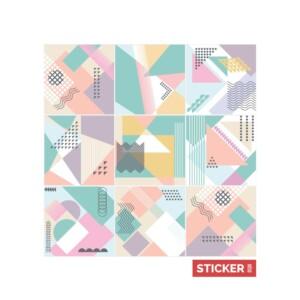 Stickers Carrelage Abstrait