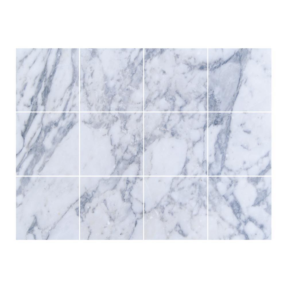Marbre Blanc Sol Prix stickers carrelage marbre blanc bleu   adhésifs carreaux   stickerdeco.fr
