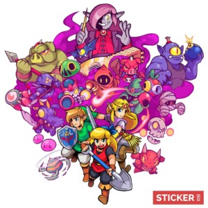 Sticker Zelda Cadence of Hyrule