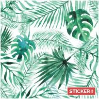 Crédence Adhésive Jungle Aquarelle