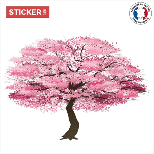 Sticker Arbre Japonais