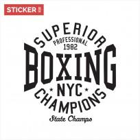 Sticker Boxe